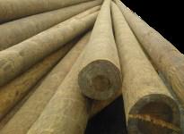 Столбы освещения ЛЭП 9,5м и 11м, деревянные